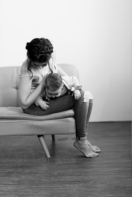 Mama Kind Fotoshooting